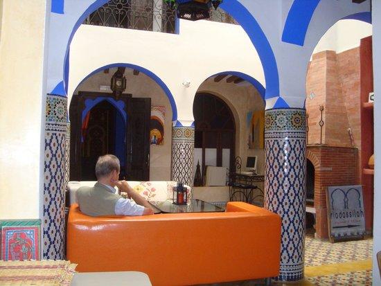 Hotel Riad Casa Hassan Restaurante: Il salotto