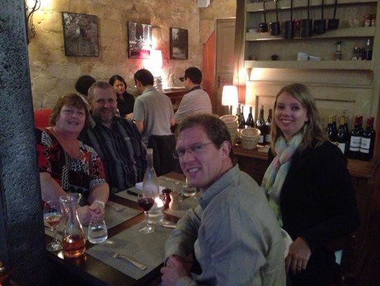 Bistrot des Vignes : Beautiful little restaurant.