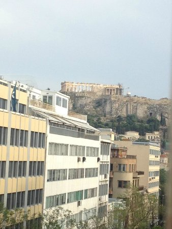 Attalos Hotel: The view from our balcony
