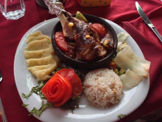 Sultan Ahmet Restaurant: Lamb shank
