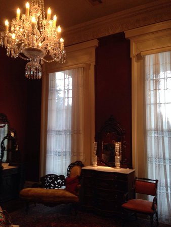 Bocage Plantation: The Red Room. So beautiful