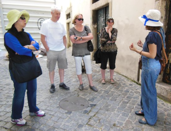Inside Lisbon Tours : Margarita & some of our group