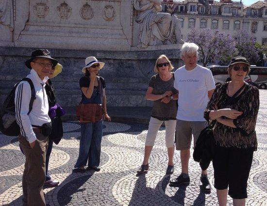 Inside Lisbon Tours : Meeting at Praca D. Pedro IV,