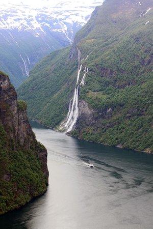 Hotel Union Geiranger: De bekende watervallen rondom het Geiranger fjord
