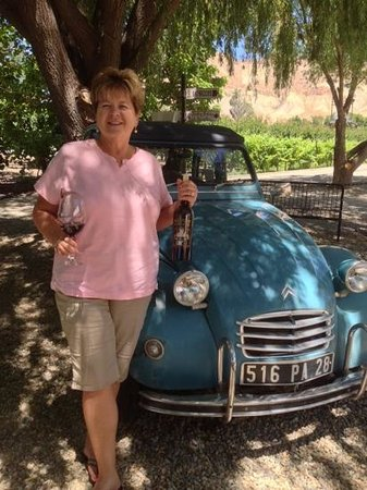 Maison la Belle Vie Winery: A French Maiden and Renault