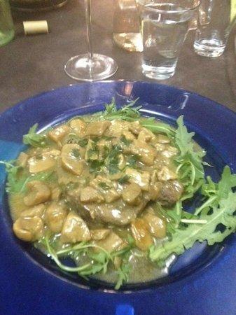 Leon d'Oro : filetto ai porcini