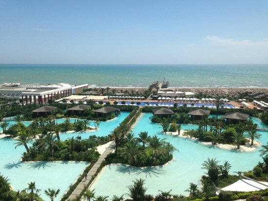 Maxx Royal Belek Golf Resort: Vue sur mer