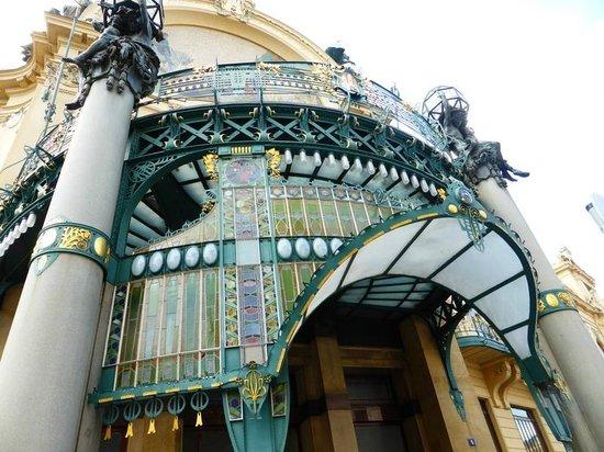 Prager Altstadt: One of the many theatres