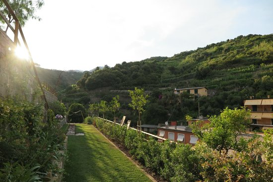La Casa di Andrea: View from patio outside room