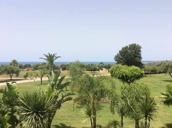 Club Alicudi Hotel : vue de la chambre