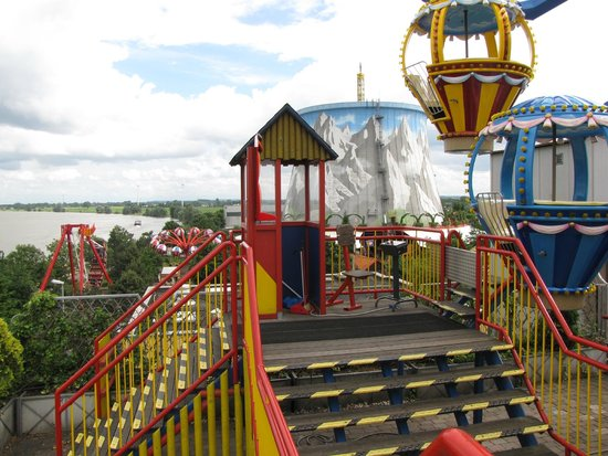 Wunderland Kalkar: vue du parc d'attraction