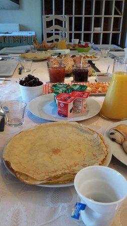 Le Moulin Vieux: Quel petit déjeuné