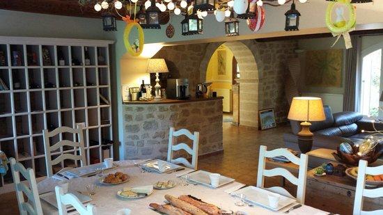 Le Moulin Vieux : Le salon