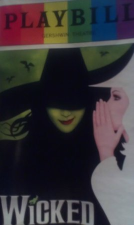 Wicked: The Playbill