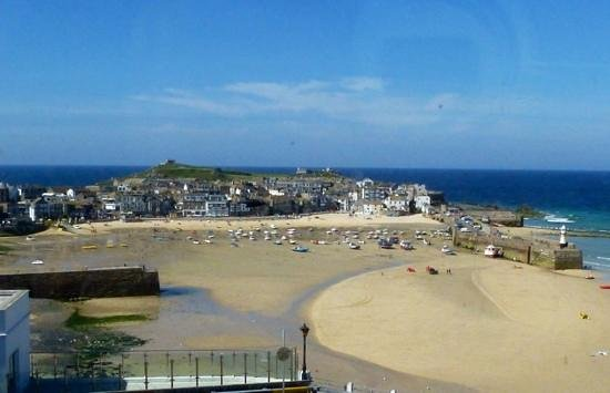The Rookery Guest House St. Ives : view from bedroom window