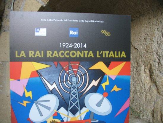 Castel Sant'Elmo : La mostra della Rai