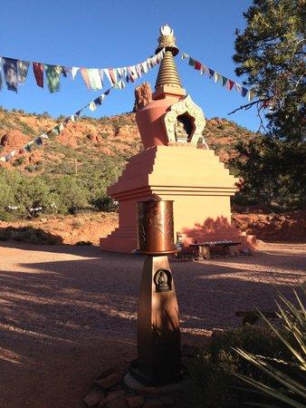 Sedona Summit Resort: Stupa