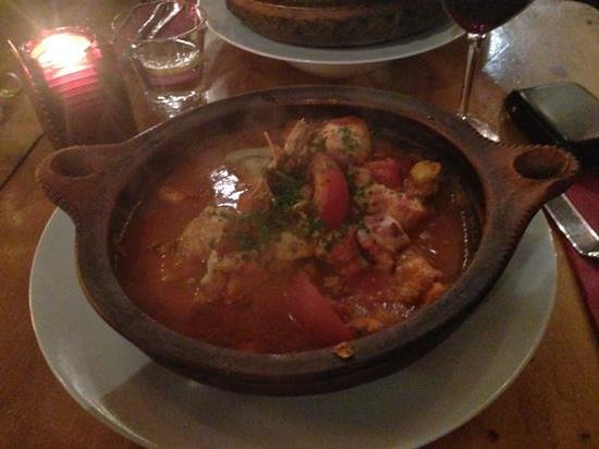 RONDA : fish tagine - excellent year after year - a classic