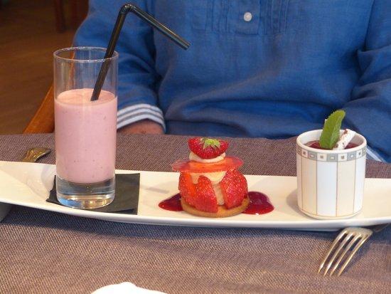 Le Vauban : Strawberries three ways