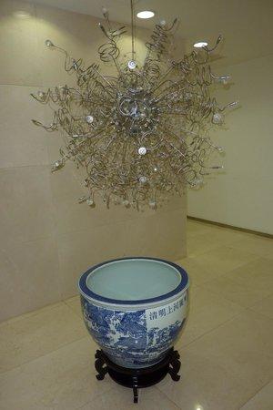Hotel Kapok Beijing: lovely chandelier