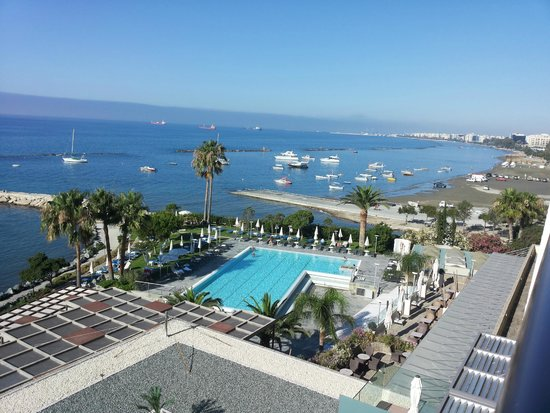 Crowne Plaza Limassol: from the balcony