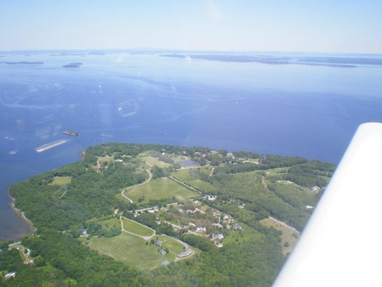 Owls Head, เมน: Gliding along the Maine coast
