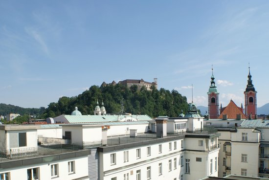 Grand Hotel Union: View from room