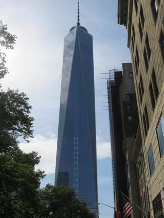 Real New York Tours: Tour ended at the Freedom Tower