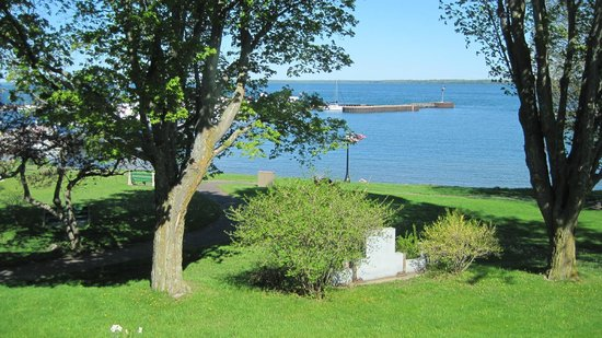 The Bayfield Inn : View from Room 107