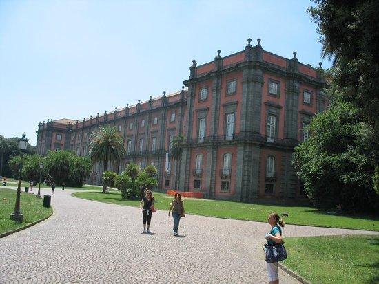 Museo e Gallerie Nazionali di Capodimonte: Il Museo visto dal Parco