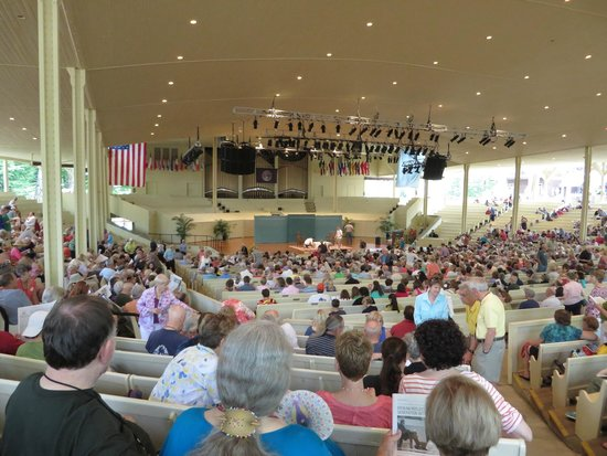Chautauqua Institution: The amphitheater