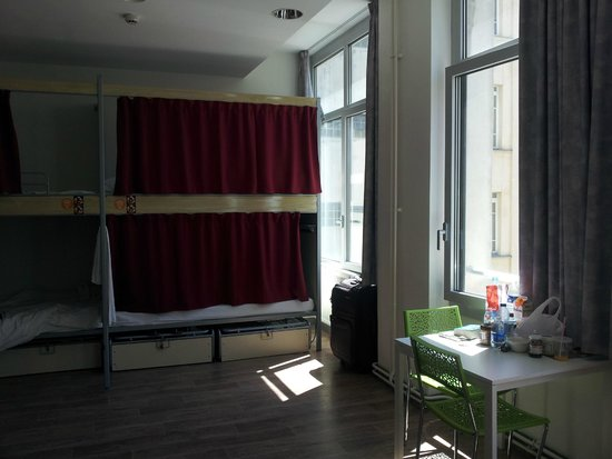 St Christopher's Gare du Nord Paris: This dorm was bigger than others
