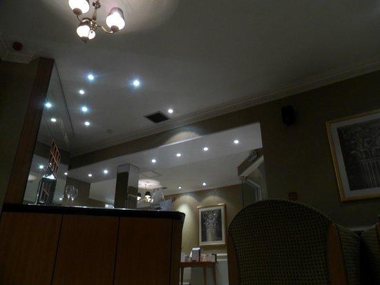 New County Hotel: Reception (unusual angle)