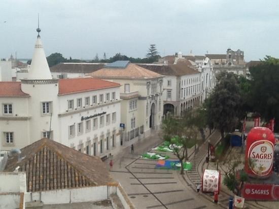 Hotel Faro: view from breakfast terrace