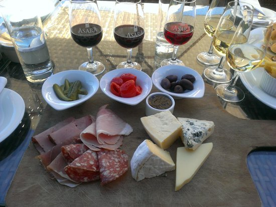 Asara Wine Estate & Hotel: pranzo