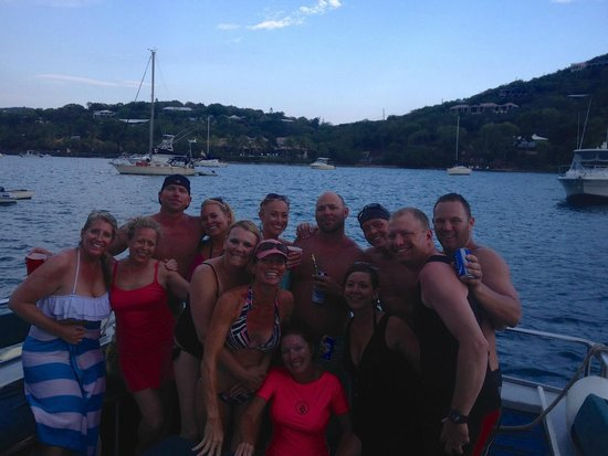 Born to Rhumb Charters : All of Us...minus Shane