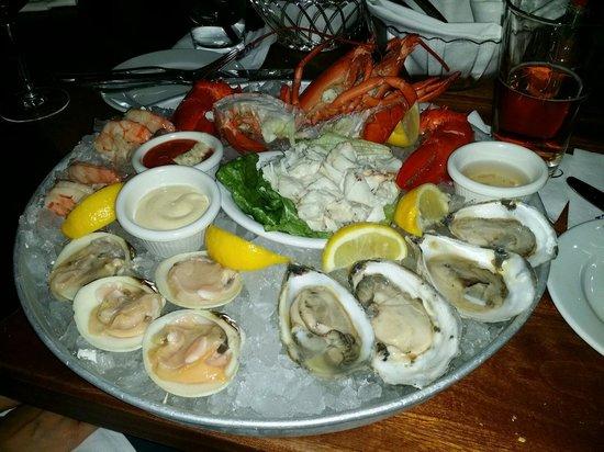Atlantic Fish Company: Seafood Platter
