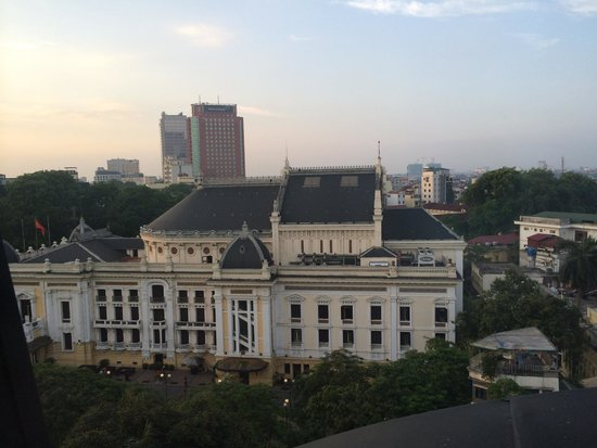 Hilton Hanoi Opera: view from executive lounge