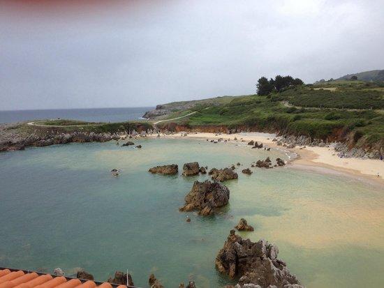Playa de Toro: Playa de Toró desde el restaurante Mirador de Toró