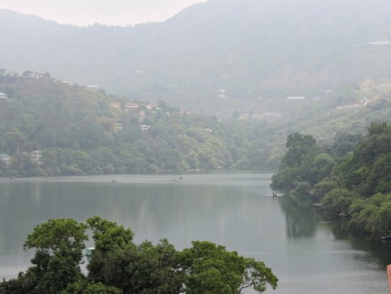 The Lake Village : View from the resort