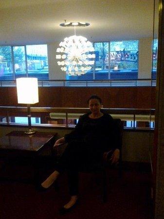 Radisson Blu Hotel Norge : Шикарная люстра!