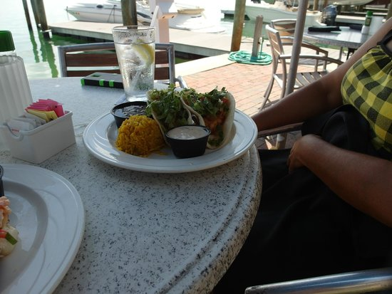Dry Dock Waterfront Grill : Lobster Tacos