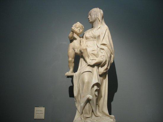Museo Nazionale di Capodimonte: La Madonna di profilo col Bambino