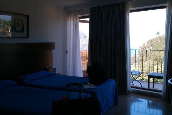 Maristel Hotel: Zimmer im Nebengebäude mit Meerblick