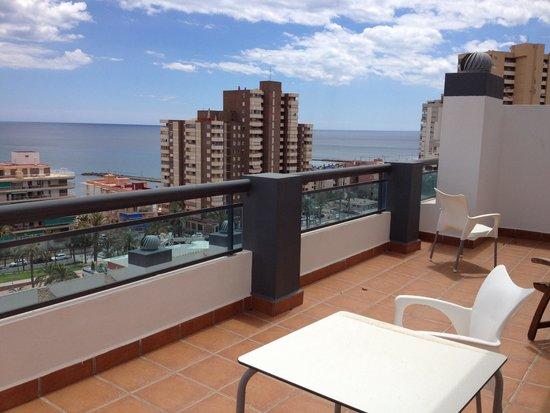 Hotel La Familia Gallo Rojo: Terass