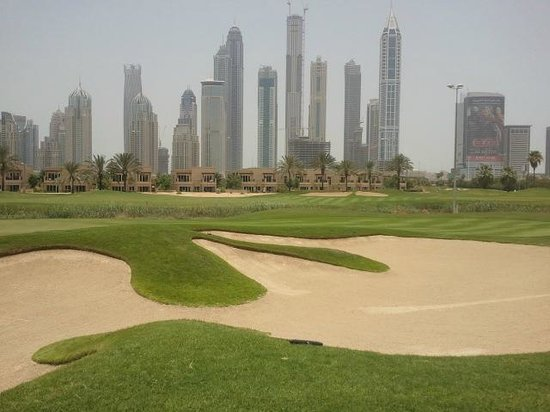 The Emirates Golf Club : spectaculaire