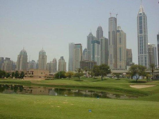 The Emirates Golf Club : la meme...