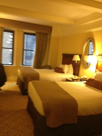 InterContinental New York Barclay: Our room