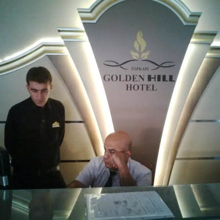 Golden Hill Istanbul: Worse staff people - asking bribes in order to serve you