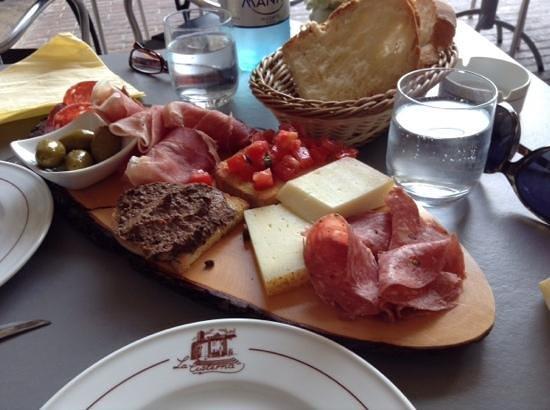 Le Terrazze: heerlijke toscaanse misto